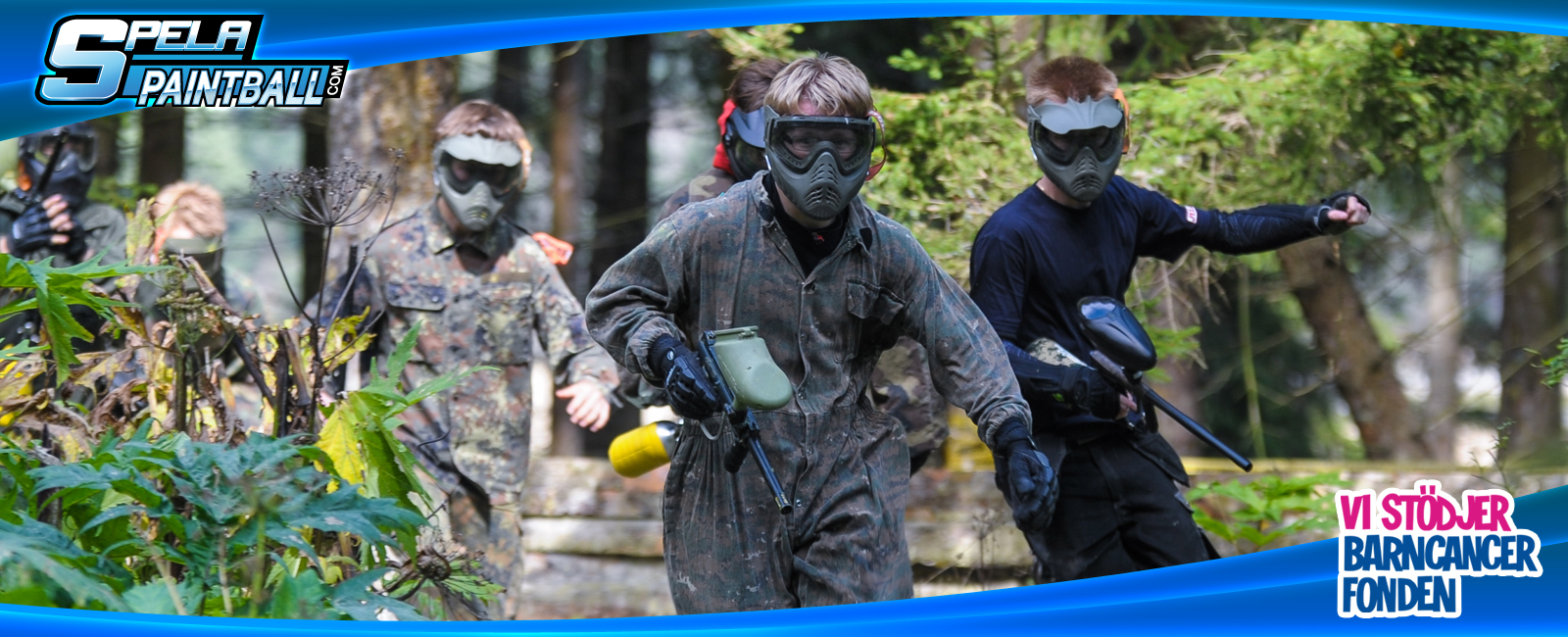 Junior Paintball Stockholm