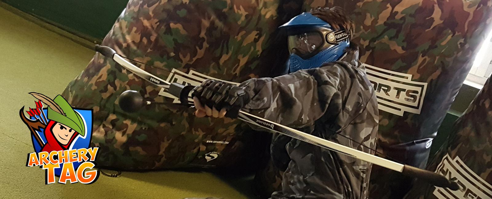 Archery Tag, även känt som Combat Archery, Action Archery, Archery Attack osv.
