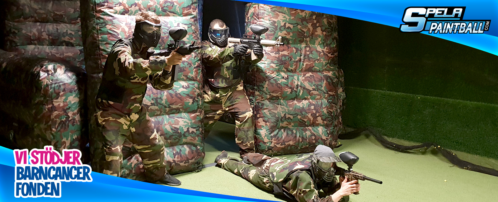 Paintball Drop-in Stockholm