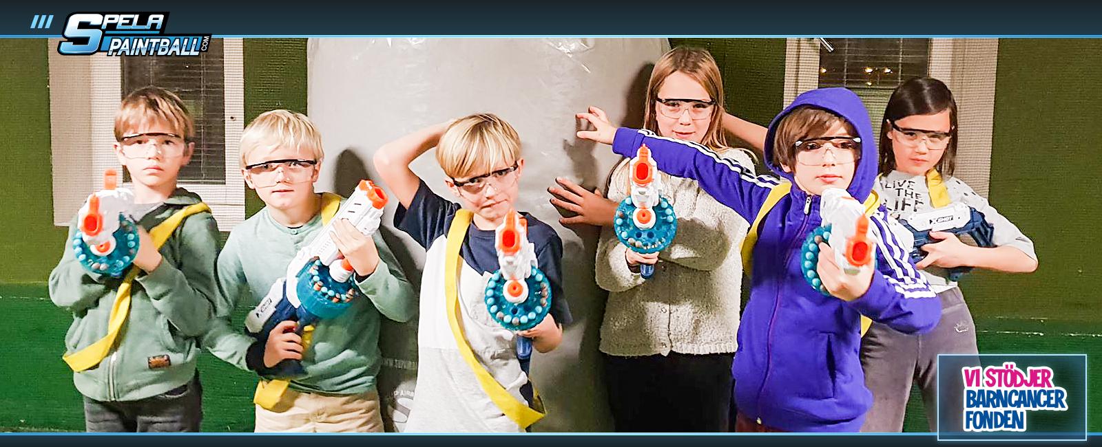 Nerf Wars för barn!